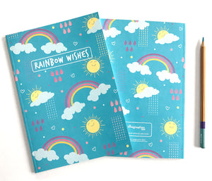 Rainbows and Sunshine Notebooks