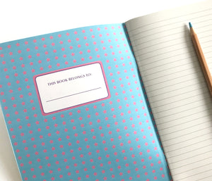 Rainbow lined notebook by The Imagination Spot