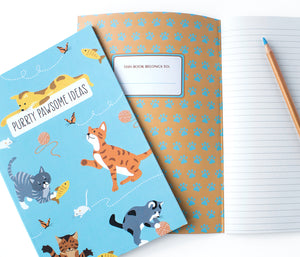 Cat notebook - Cute School supplies