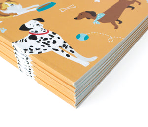 Cute dog notebooks - Ruff Ruff Notes
