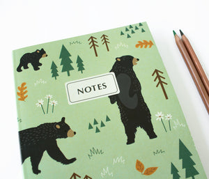Forest bear - Lined notebook