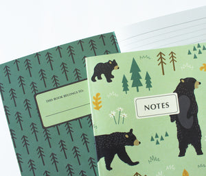 Bear Journal - Camping notes