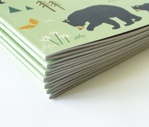 Lined notebooks - Saddle stitched