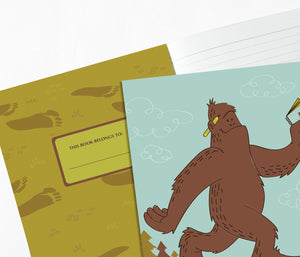 Sasquatch Notebook Journal - Bigfoot Notebook