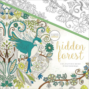 Hidden Forest - Coloring Book