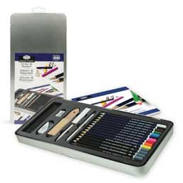 Royal & Langnickel® Essentials™ Draw & Sketch Art Set