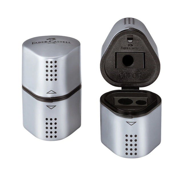 Faber Castell® GRIP Trio Pencil Sharpener
