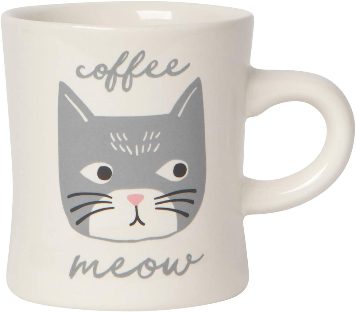Cat Diner Mug - Coffee Meow