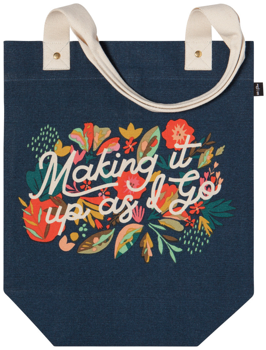Making It Up As I Go - Studio Tote Bag