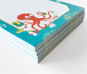 Notepads - Octopus by The Imagination Spot