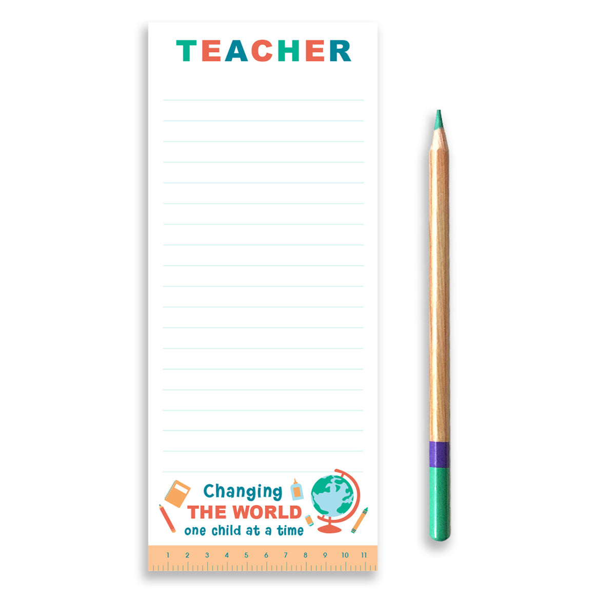 Teacher Notepad - Changing the world one child at a time