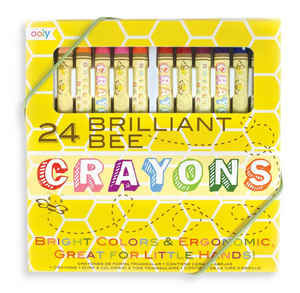 Brilliant Bee Crayons - 24 color set