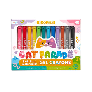 Cat Watercolor Gel Crayons