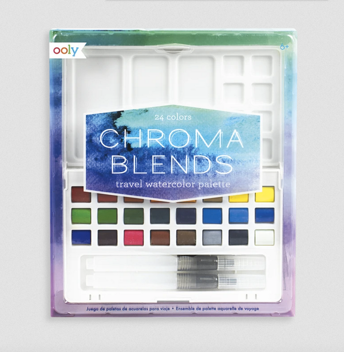 Chromablends Traveler Watercolor Set