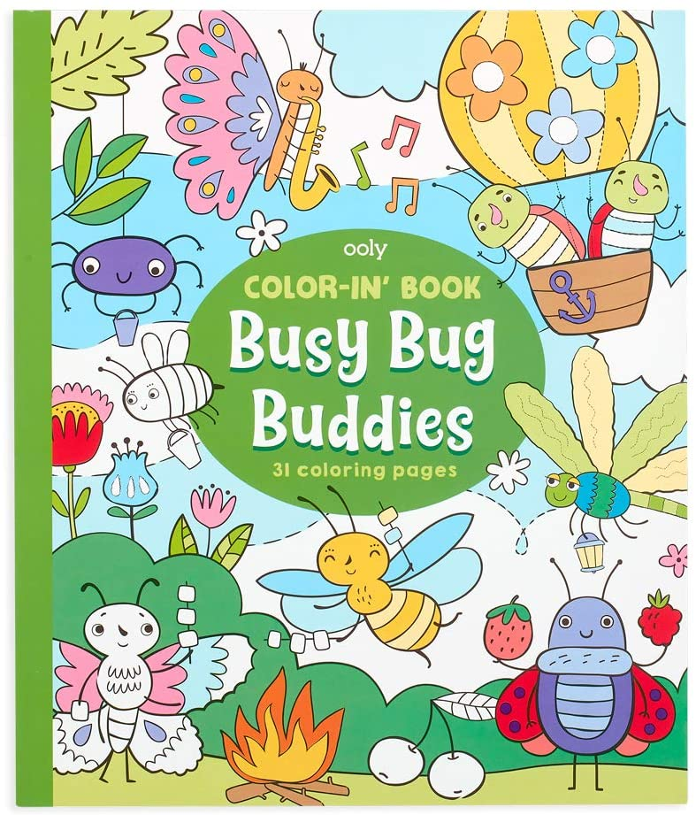 Coloring Book - Busy Bug Buddies