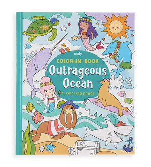 Coloring Book - Outrageous Ocean