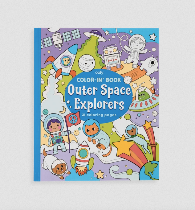 Coloring Book - Outer Space Explorers