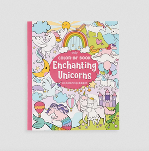 Coloring Books - Enchanting Unicorn