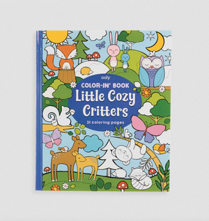 Coloring Book - Little Cozy Critters
