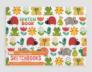 Sunshine Garden Sketchbooks - Set of 2