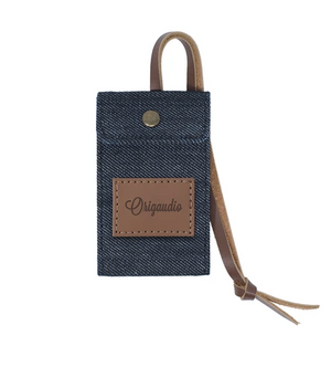 Denim Luggage Tag