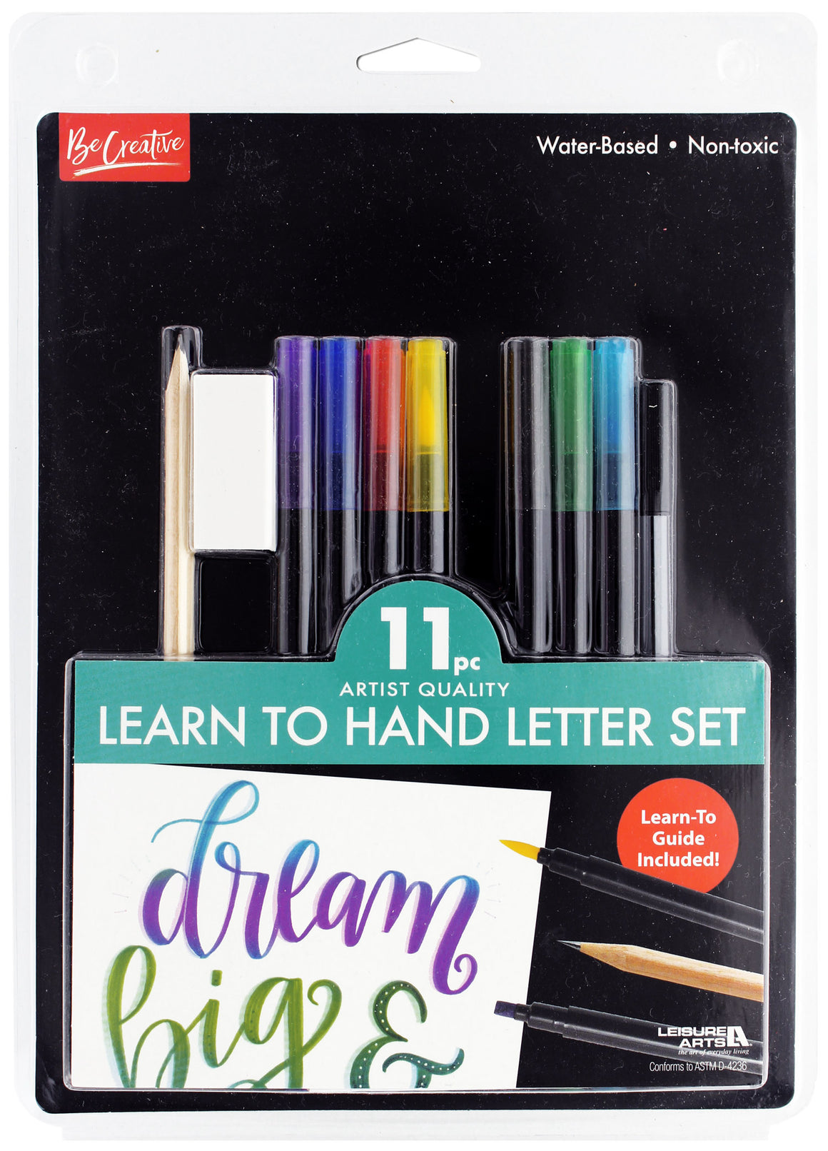 Learn to Hand Letter - Hand Lettering Set