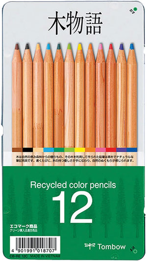 Tombow Recycled Color Pencils- 12pc