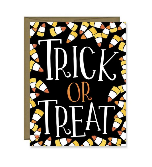 Trick Or Treat - Halloween Card