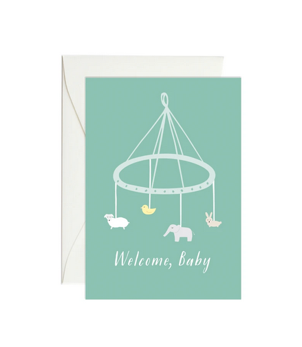 Baby Mobile - Mini Gift Enclosure Card