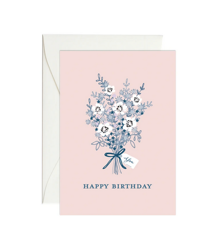 Birthday Bouquet - Mini Gift Enclosure Card