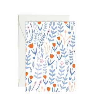 Tulip Garden - Mini Gift Enclosure Card
