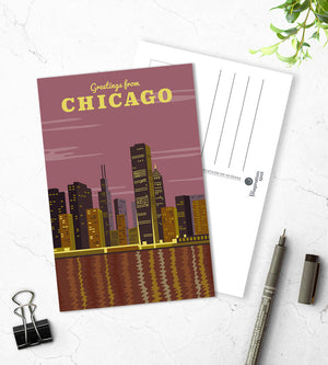 Chicago city postcards - The Imagination Spot