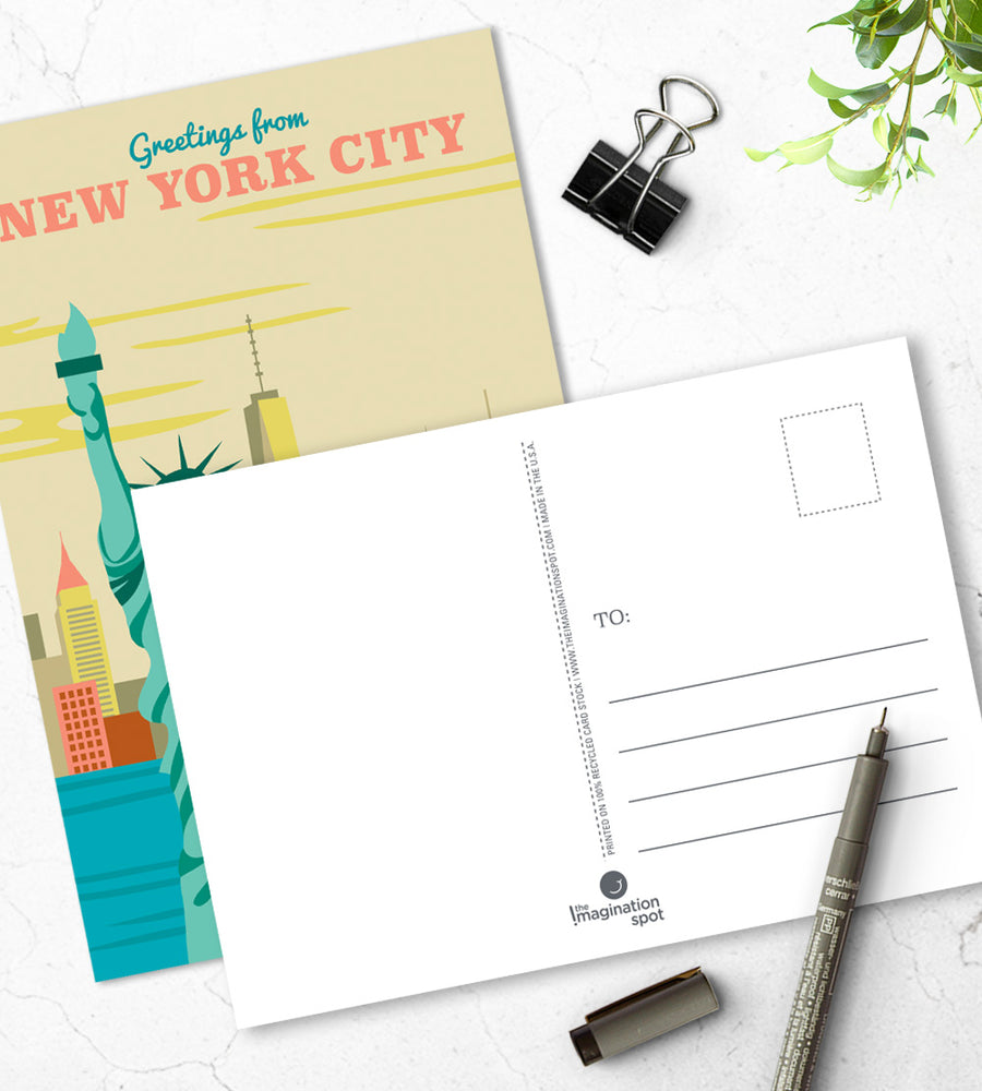 New York City Postcards - The Imagination Spot