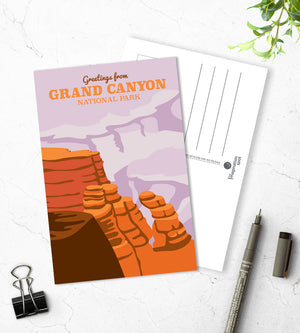 Grand Canyon postcards - The Imagination Spot
