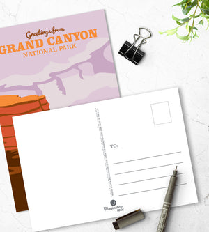 Grand Canyon National Park postcards