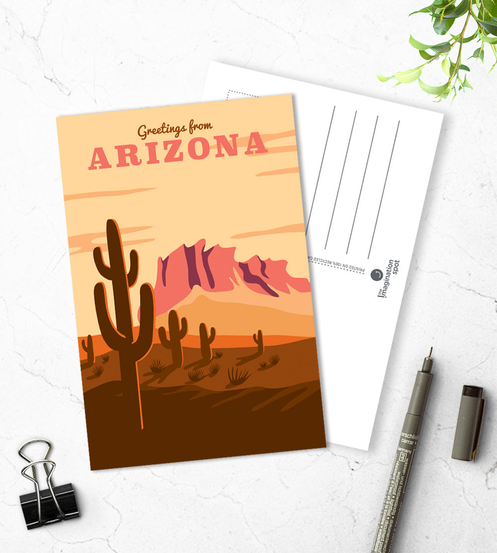 Arizona state postcards - The Imagination Spot
