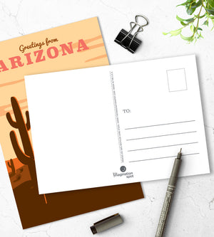 Arizona postcards - U.S state postcards