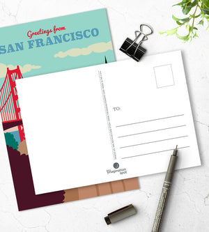 San Francisco postcards