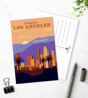 Los Angeles postcards - The Imagination Spot