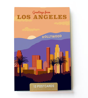 Los Angeles postcard set