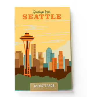 Seattle postcard set