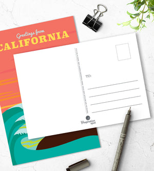 California Postcards