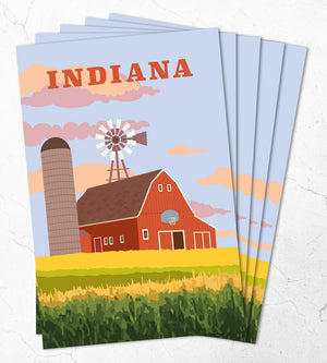Indiana postcards - travel postcards