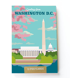 Washington DC postcard set