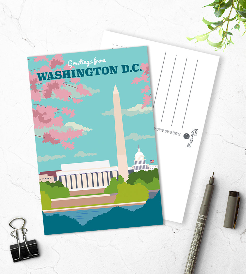 Washington DC city postcards - The Imagination Spot