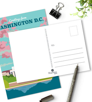 Washington DC postcards - City postcards by The Imagination Spot