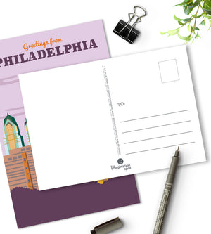 Philadelphia postcards - City postcards by The Imagination Spot