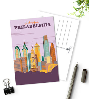 Philadelphia city postcards - The Imagination Spot