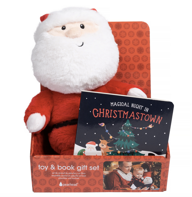 70% OFF - Santa Toy & Book Gift Set