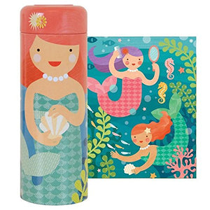 Tin Canister Puzzles - Mermaid